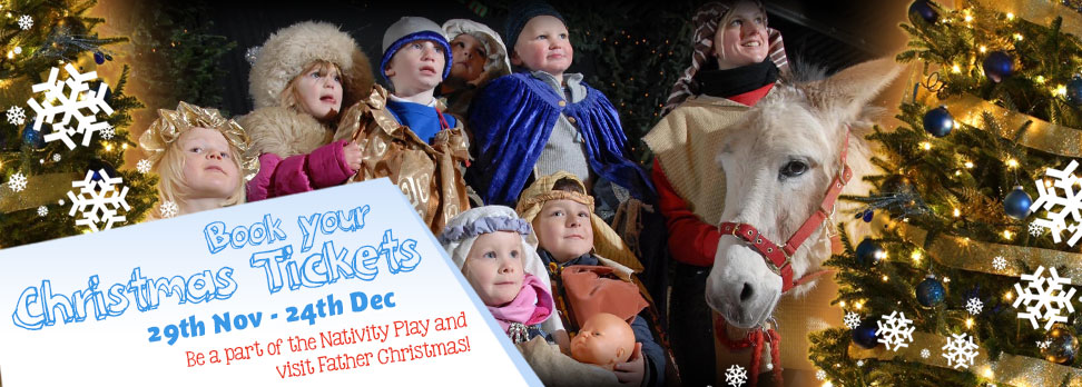 Book your 2014 Christmas Nativity tickets and see Father Christmas