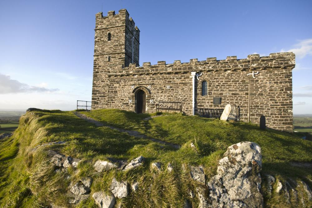 Church at Brent Tor, England