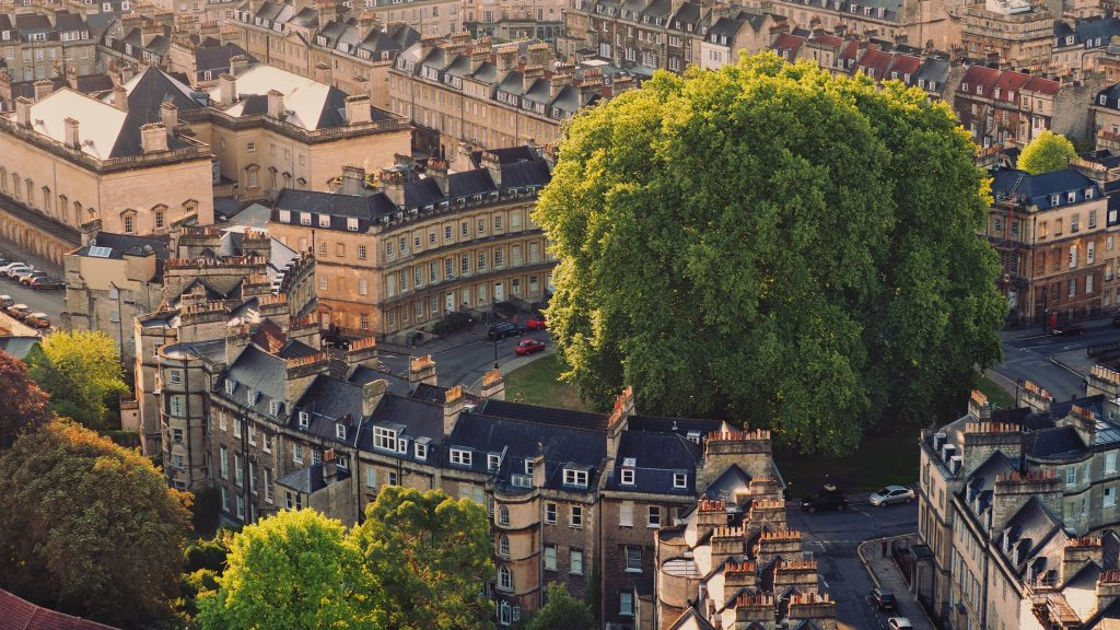 Historic Bath, England