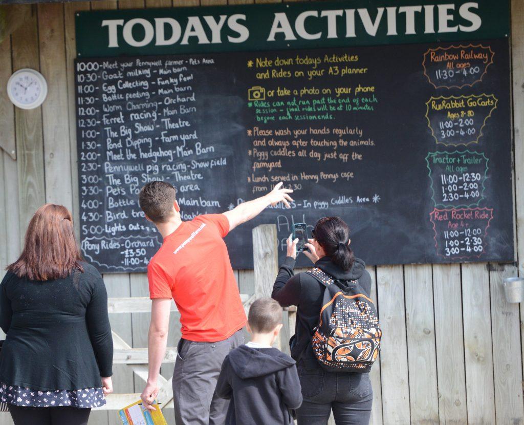 Activities, Pennywell Farm, Devon Tourist Attraction
