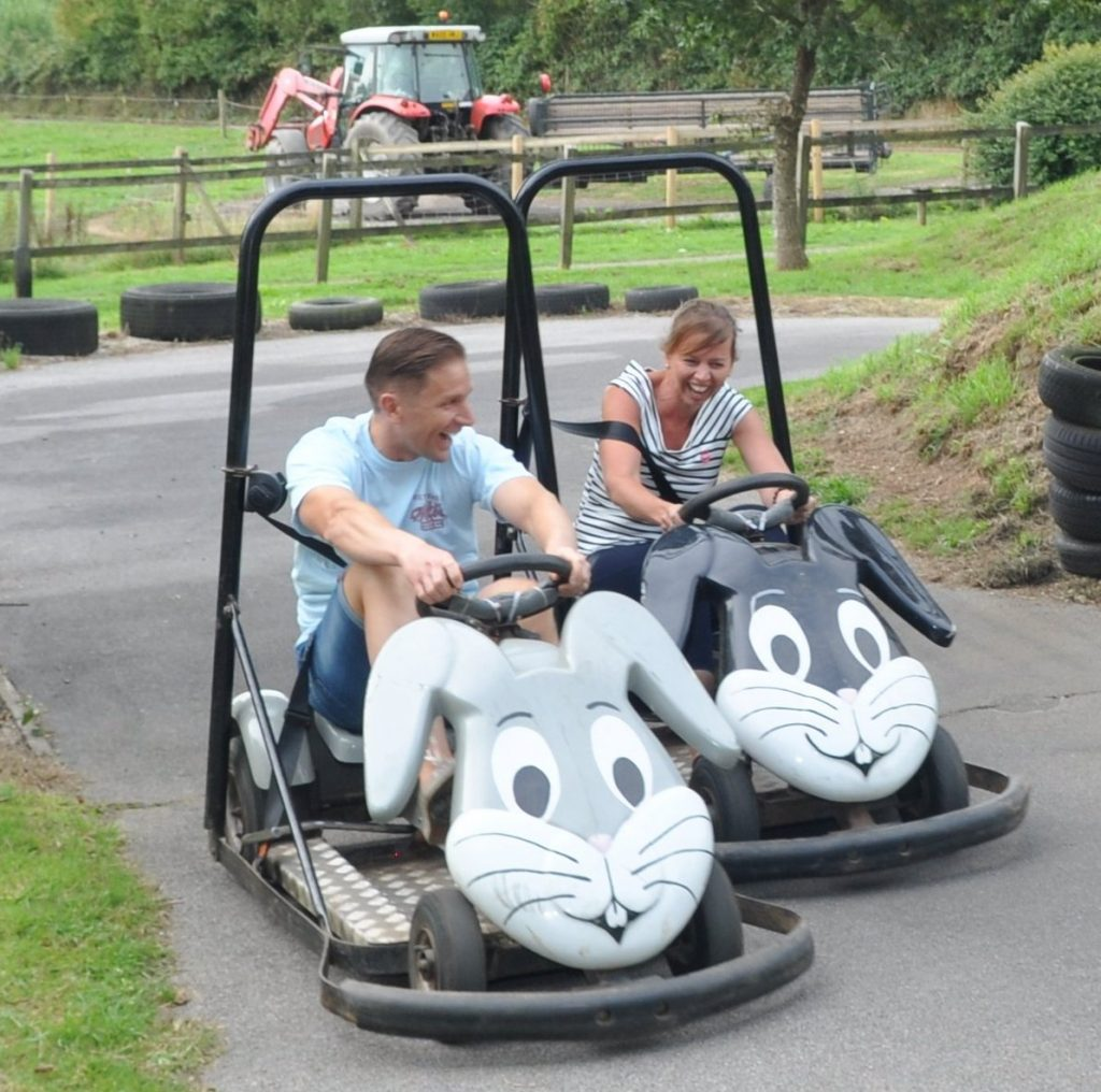 Pennywell, go carts, Devon tourist attraction