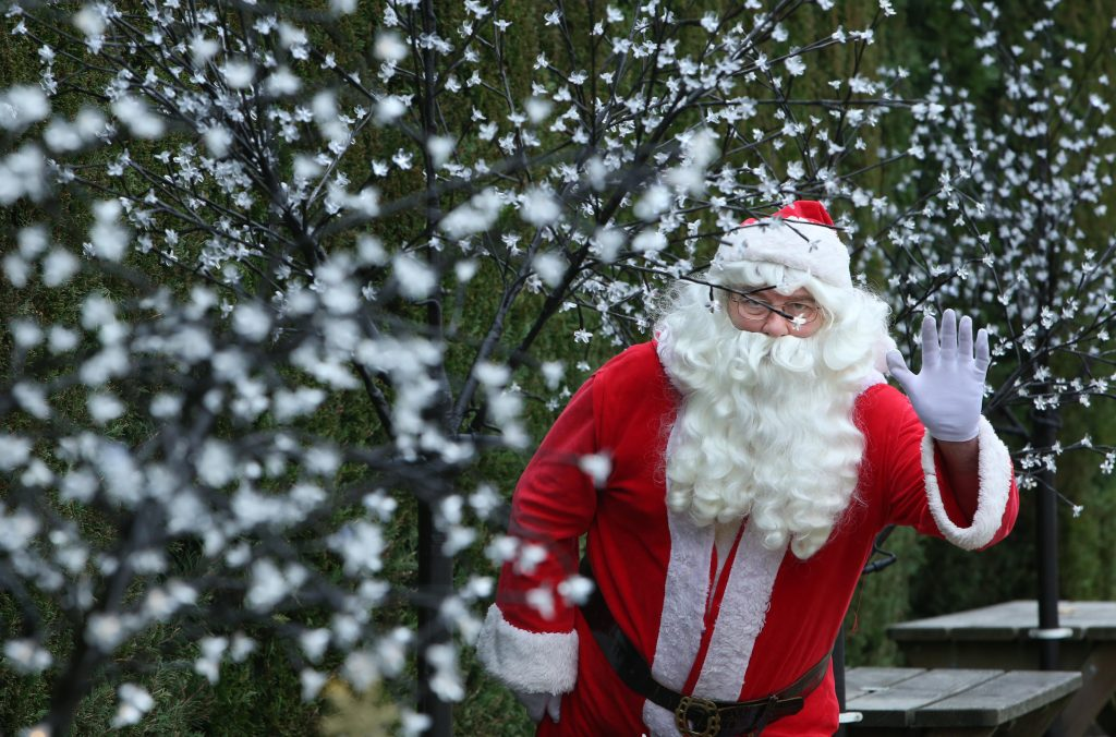 Father Christmas at Pennywell