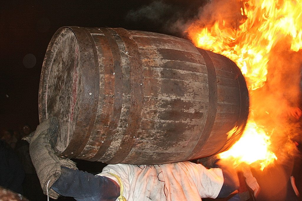 Tar Barrels at Ottery
