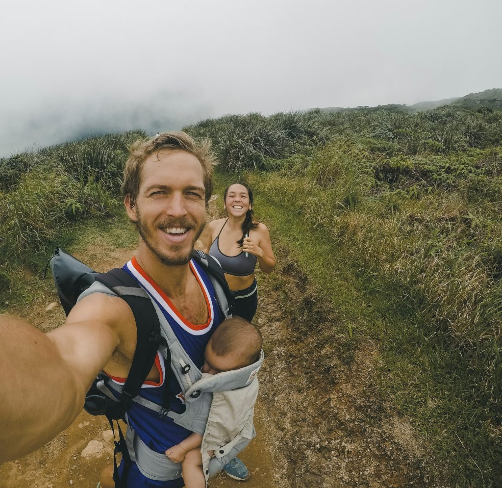 Trail running family experience